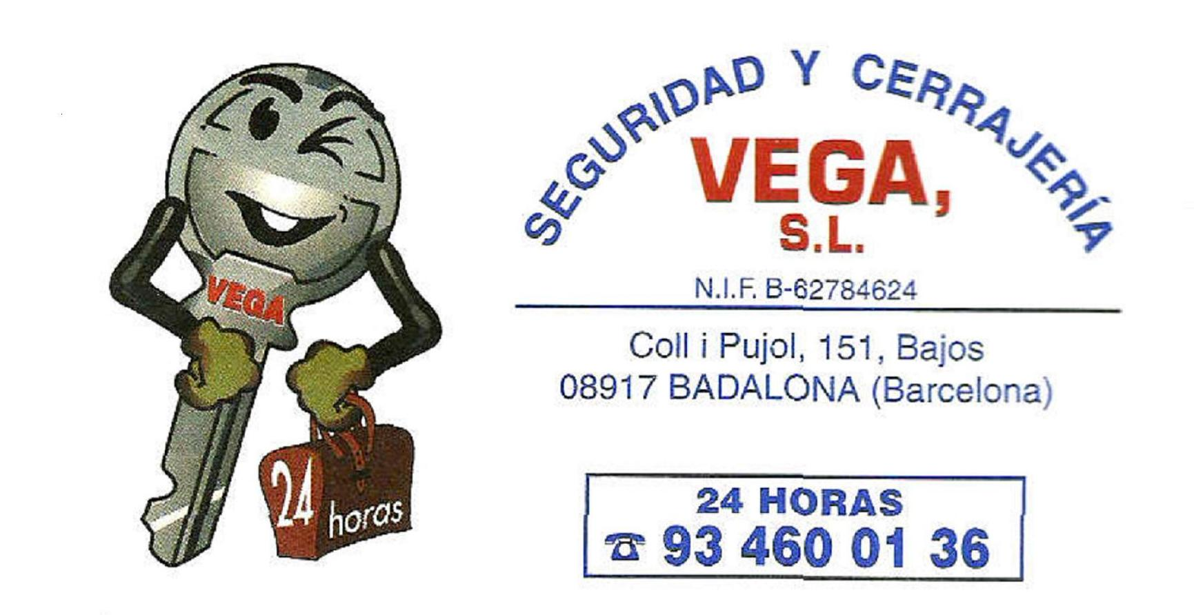 Foto 1 de Cerrajeros en Badalona   Vega Seguridad y Cerrajería, S. L.