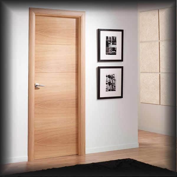 Puertas para cocina interior for Puertas semi macizas blancas