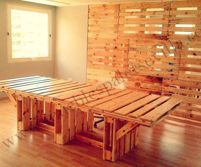 Muebles de palets sevilla perfect creamos ambientes for Muebles de palets sevilla