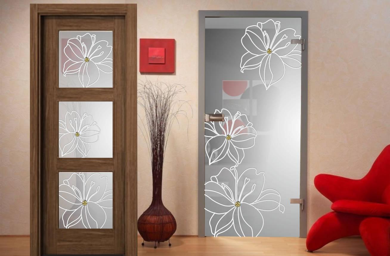 Fusing cat logo de carpinter a de aluminio y cristaler a - Cristales decorados para puertas ...