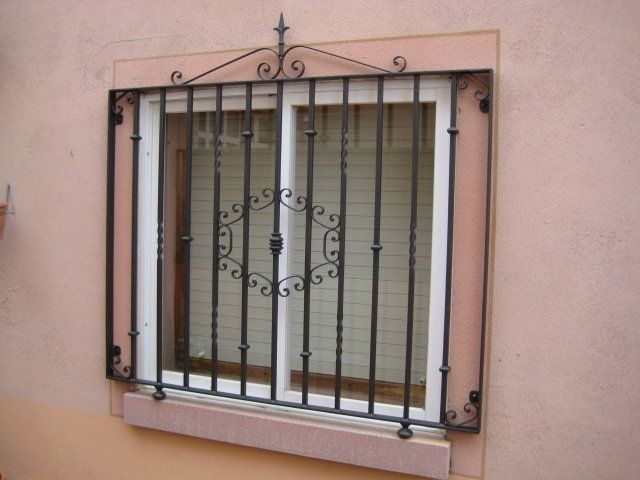 Rejas para ventanas y puertas cat logo de c l m - Rejas correderas para puertas ...