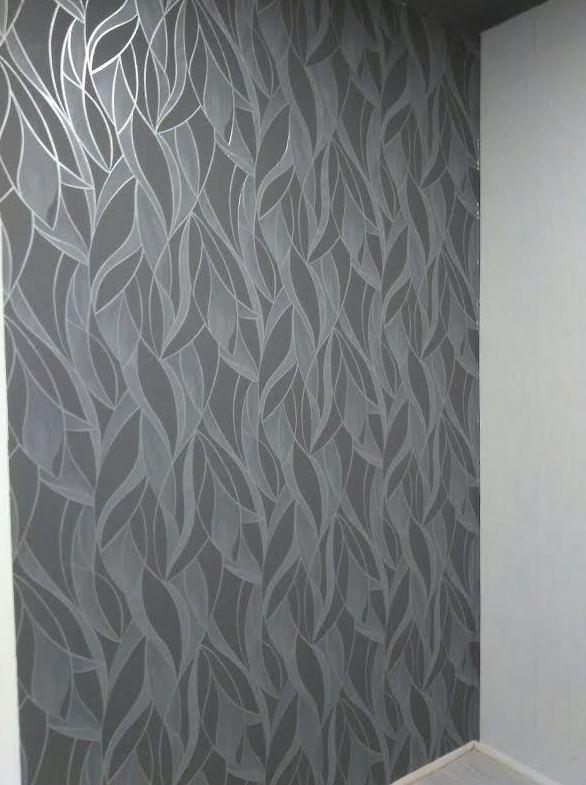 Emplear paredes, papeles pintados