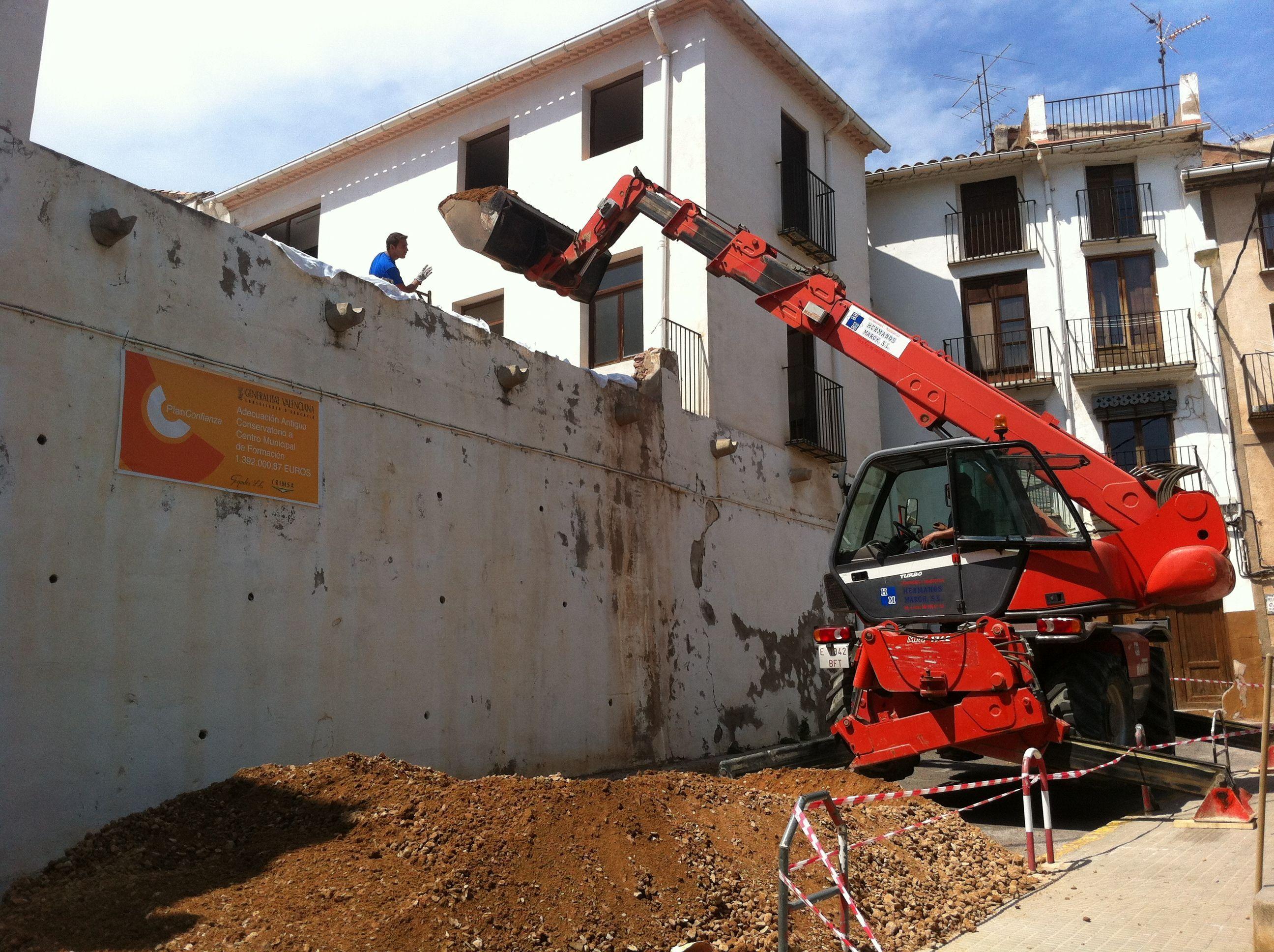 Excavaciones de tierra en valencia hermanos march s l - Empresas constructoras valencia ...