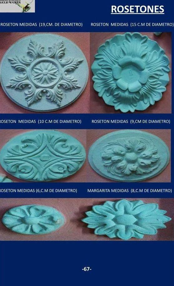 Rosetones cat logo de i de escayolas palomares - Rosetones de escayola ...
