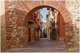 Arco portal Teruel