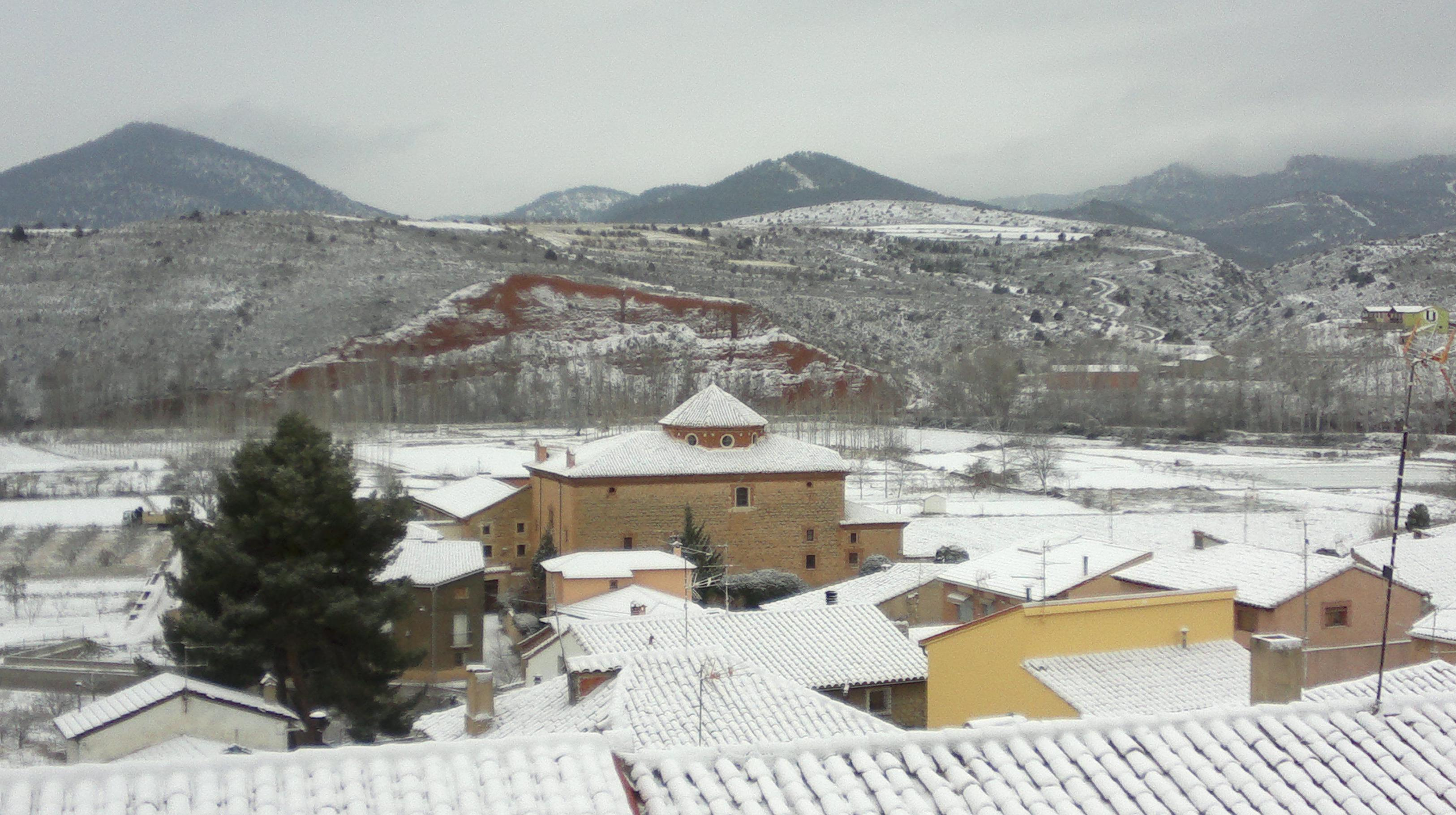 Gea de Albarracín nevado