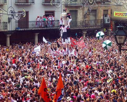 Puesta del pañuelico en Teruel