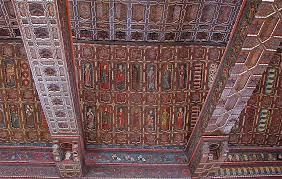 Artesonado de la catedral