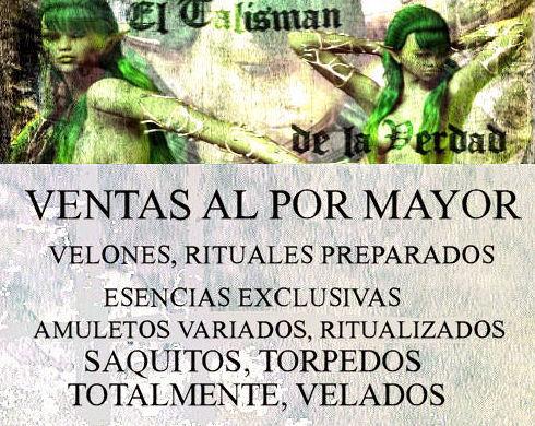 VENTAS AL POR MAYOR... DESDE ELTALISMANDELAVERDAD.COM