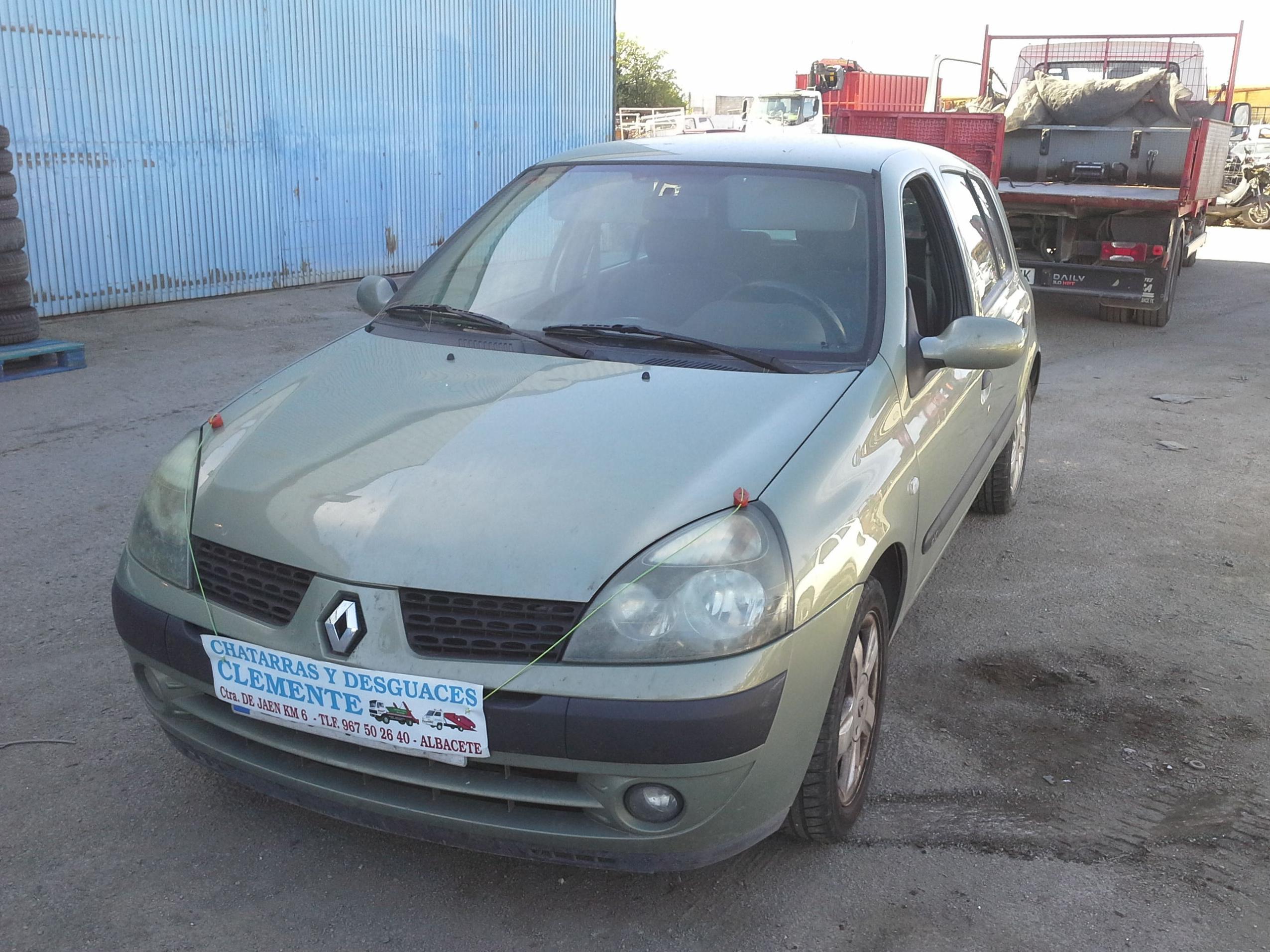 Renault Clio 2003 en Desguaces Clemente de Albacete