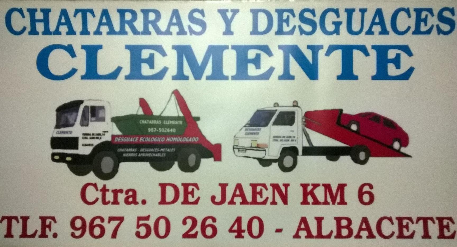 Logotipo desguaces clemente de Albacete