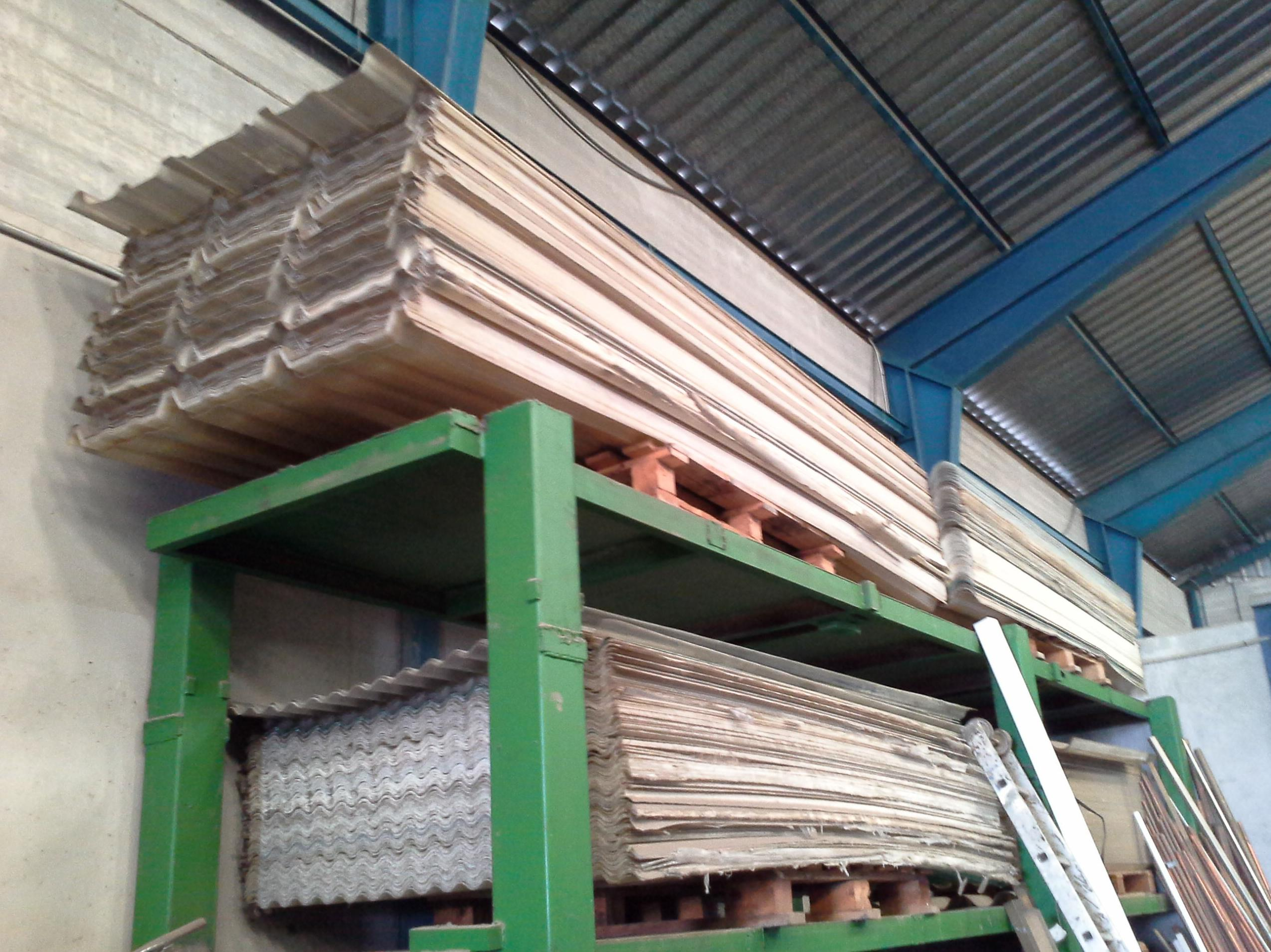 placas de tejado de poliester en chatarras clemente de albacete