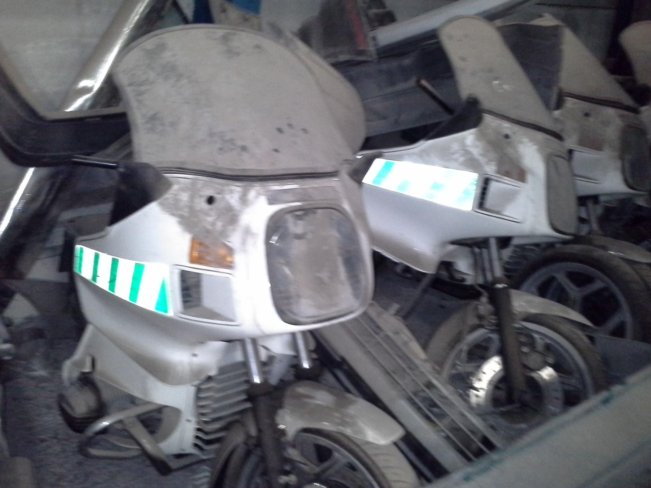 Despiece de motos BMW en Desguaces Clemente de Albacete