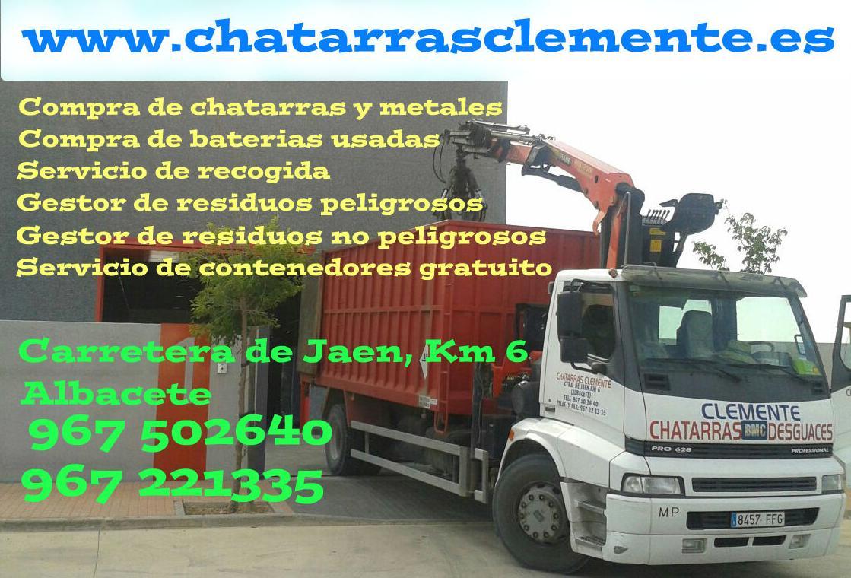 Chatarras Clemente en Albacete
