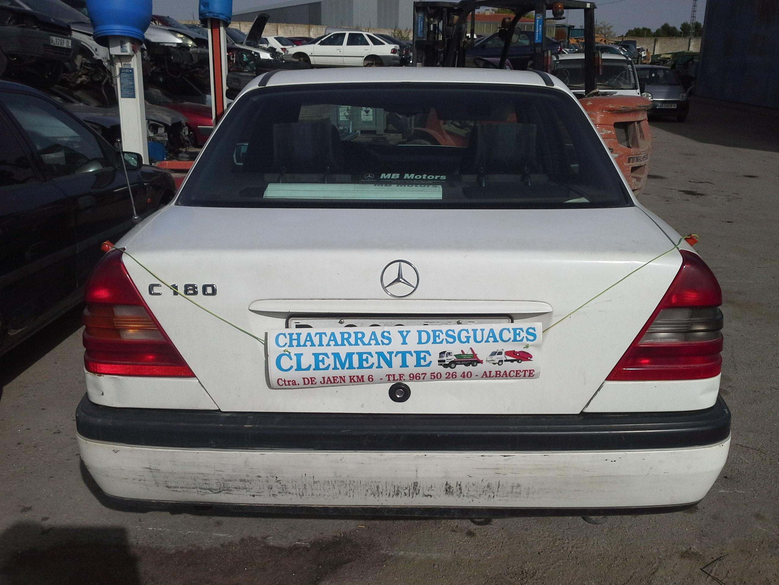 Mercedes C-180 para desguace en Desguaces Clemente de Albacete