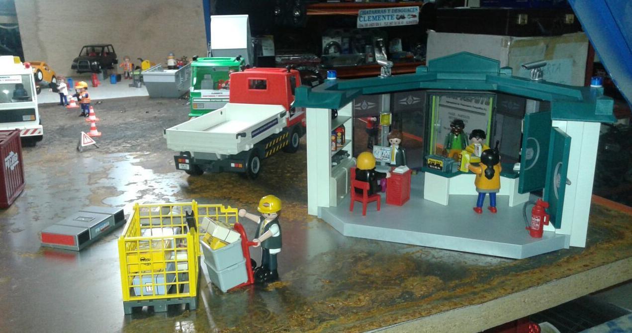 Exposicion de Playmobil en Albacete. Dssguaces Clemente