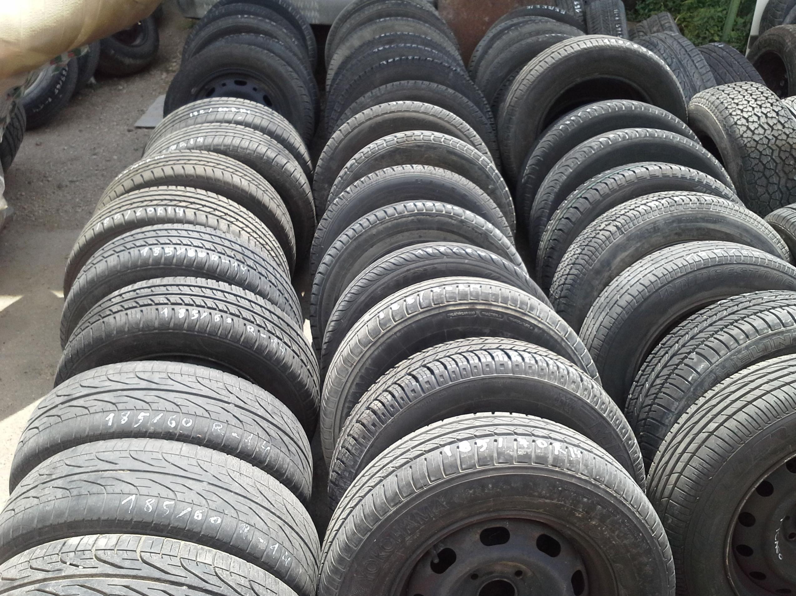 Venta de ruedas usadas en Desguaces Clemente de Albacete