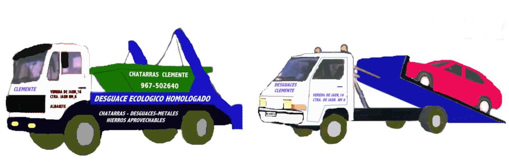 Desguaces Clemente logotipo