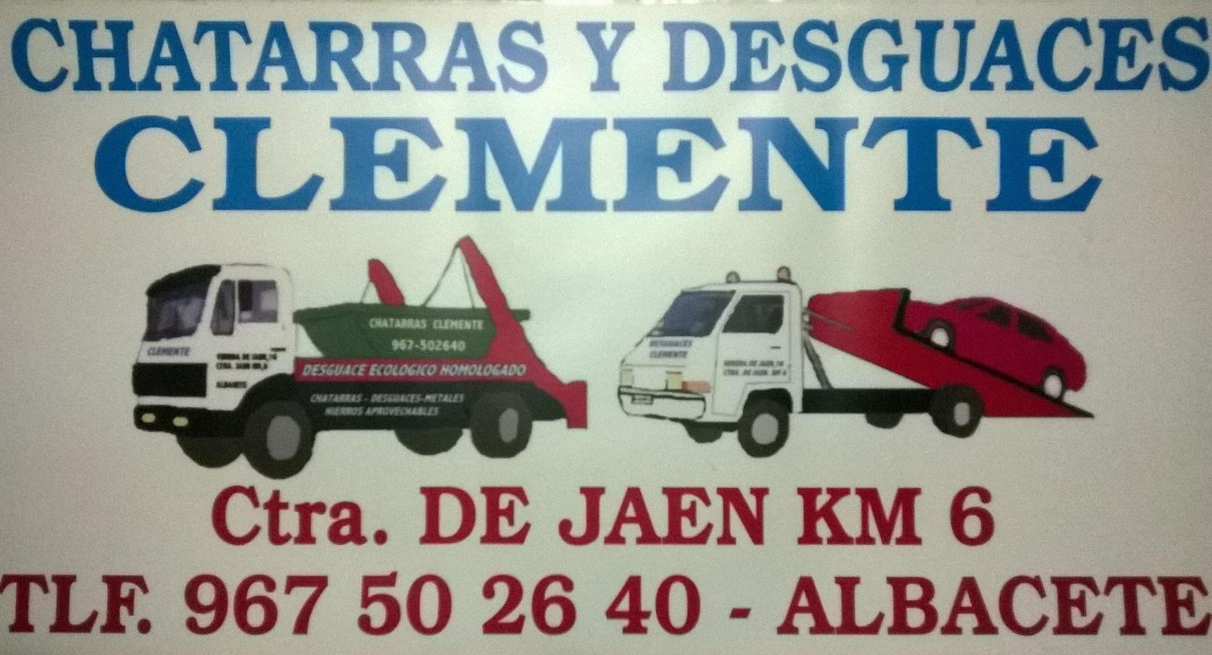 Chatarras Clemente, Desguaces Clemente. Albacete. Logotipo