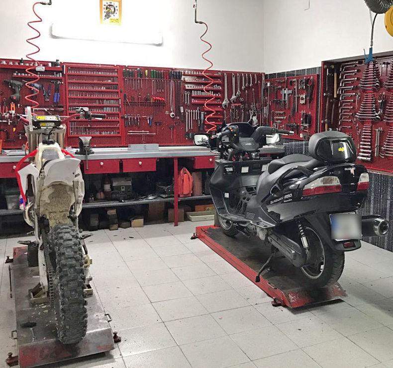 Reparación de motos en Ciempozuelos