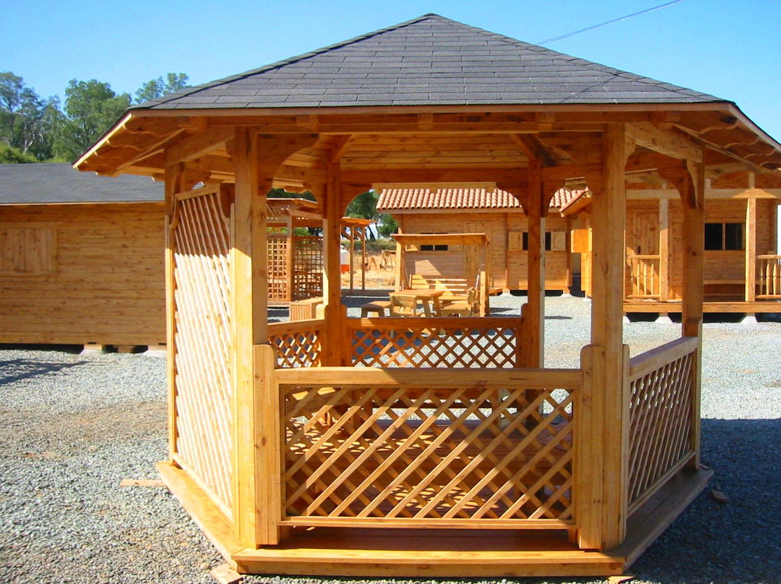 Foto 4 de casas de madera en tacoronte cortelima for Disenos de kioscos de madera