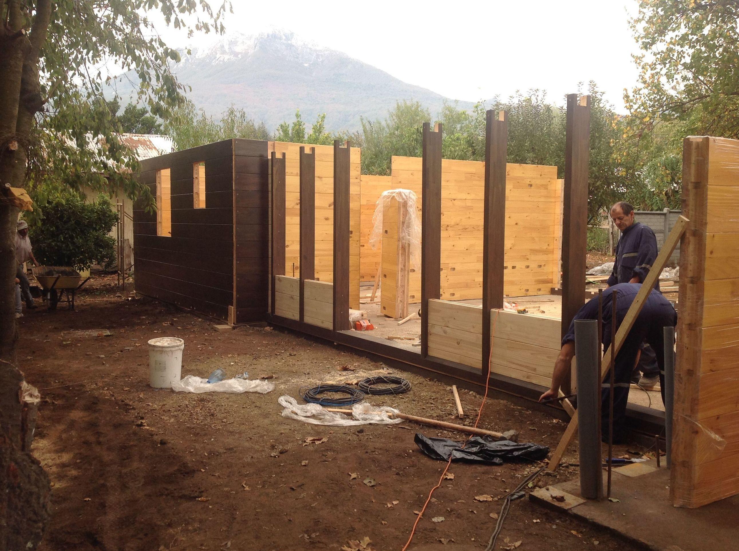 Casa de madera moderna for Casas de madera modernas
