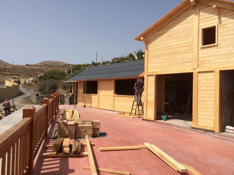 Foto 2 de casas de madera en tacoronte cortelima - Casas de madera en gran canaria ...