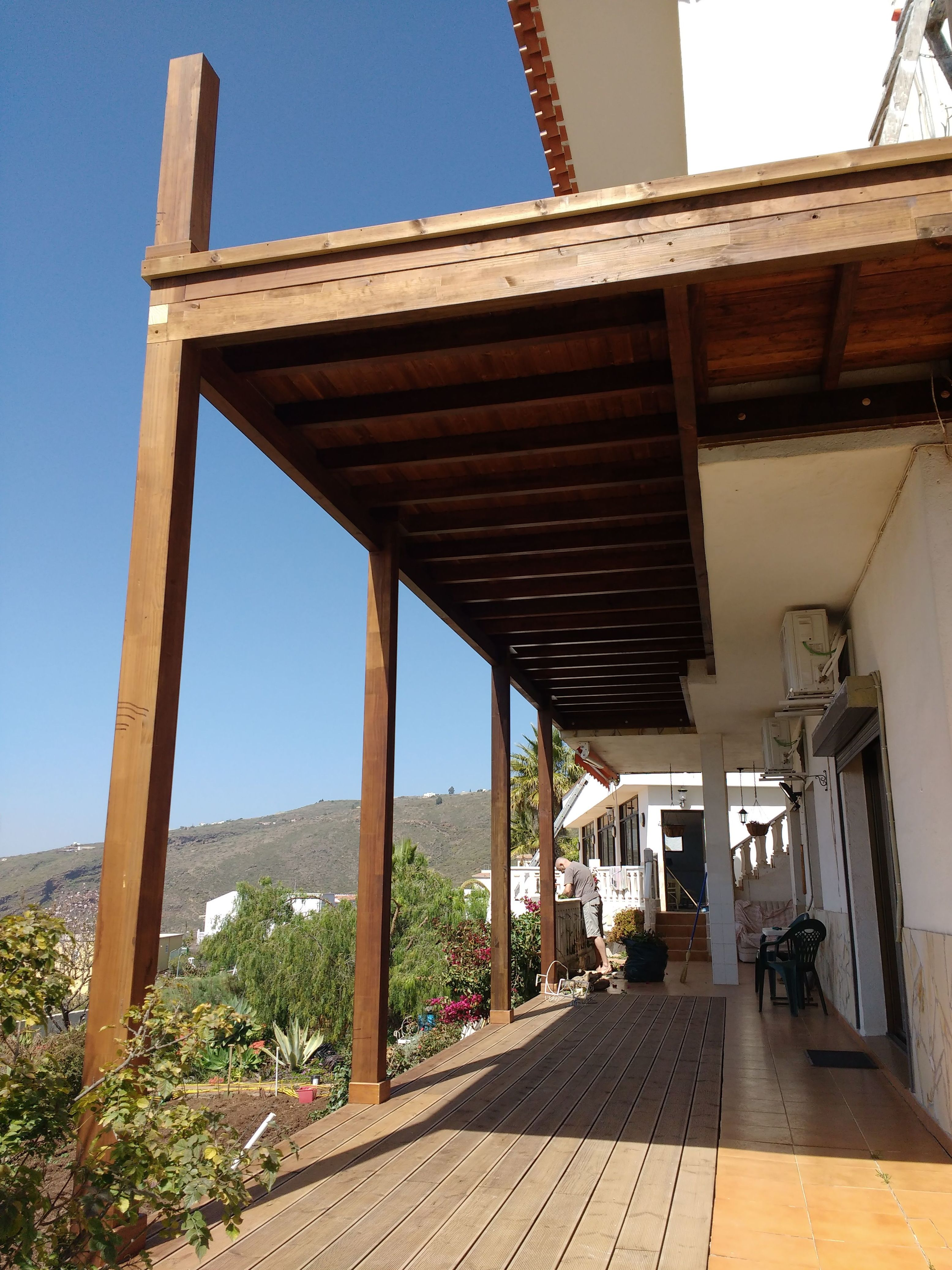 balcones terrazas y decks de madera productos y