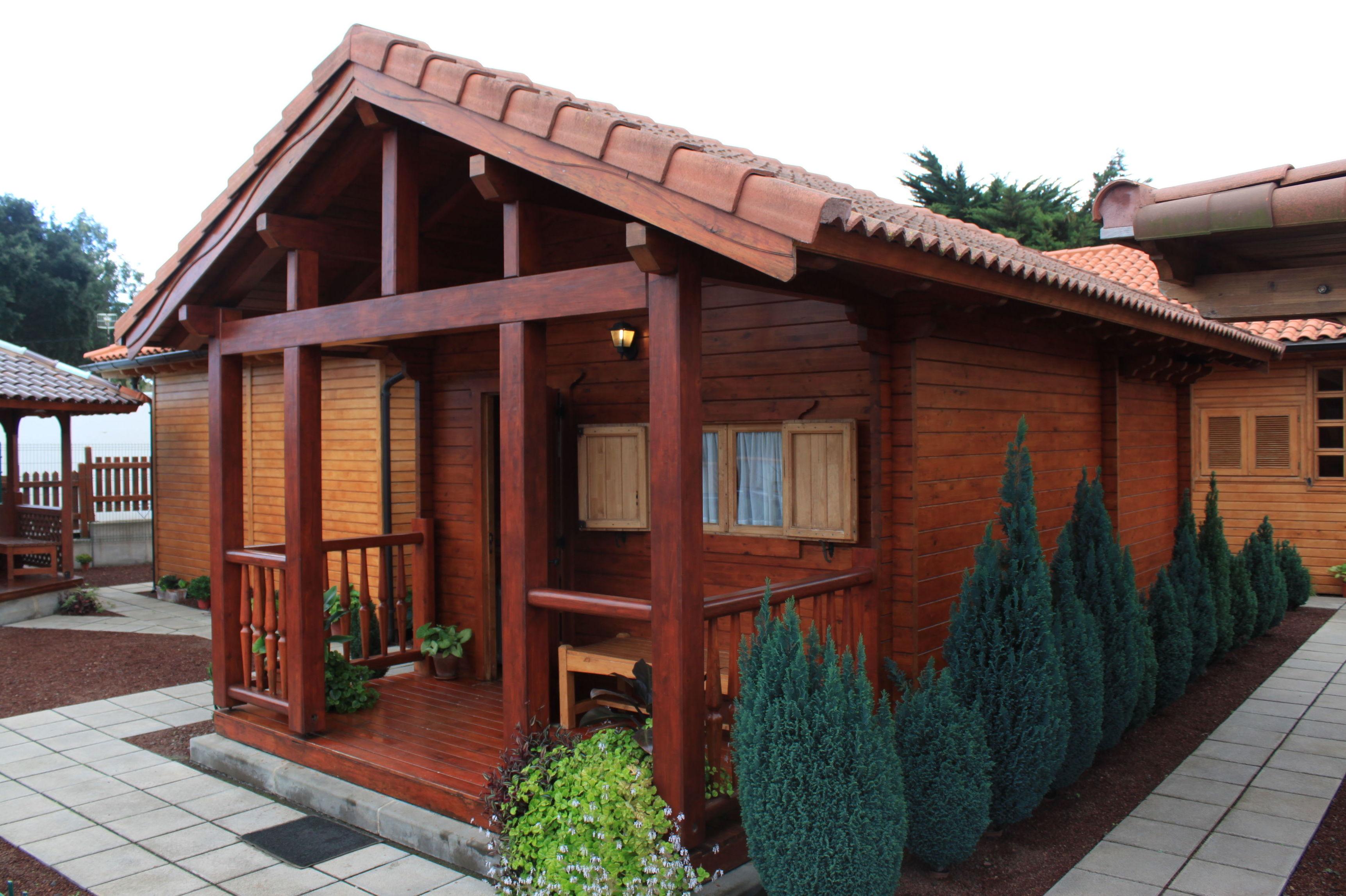 foto 4 de casas de madera en tacoronte cortelima