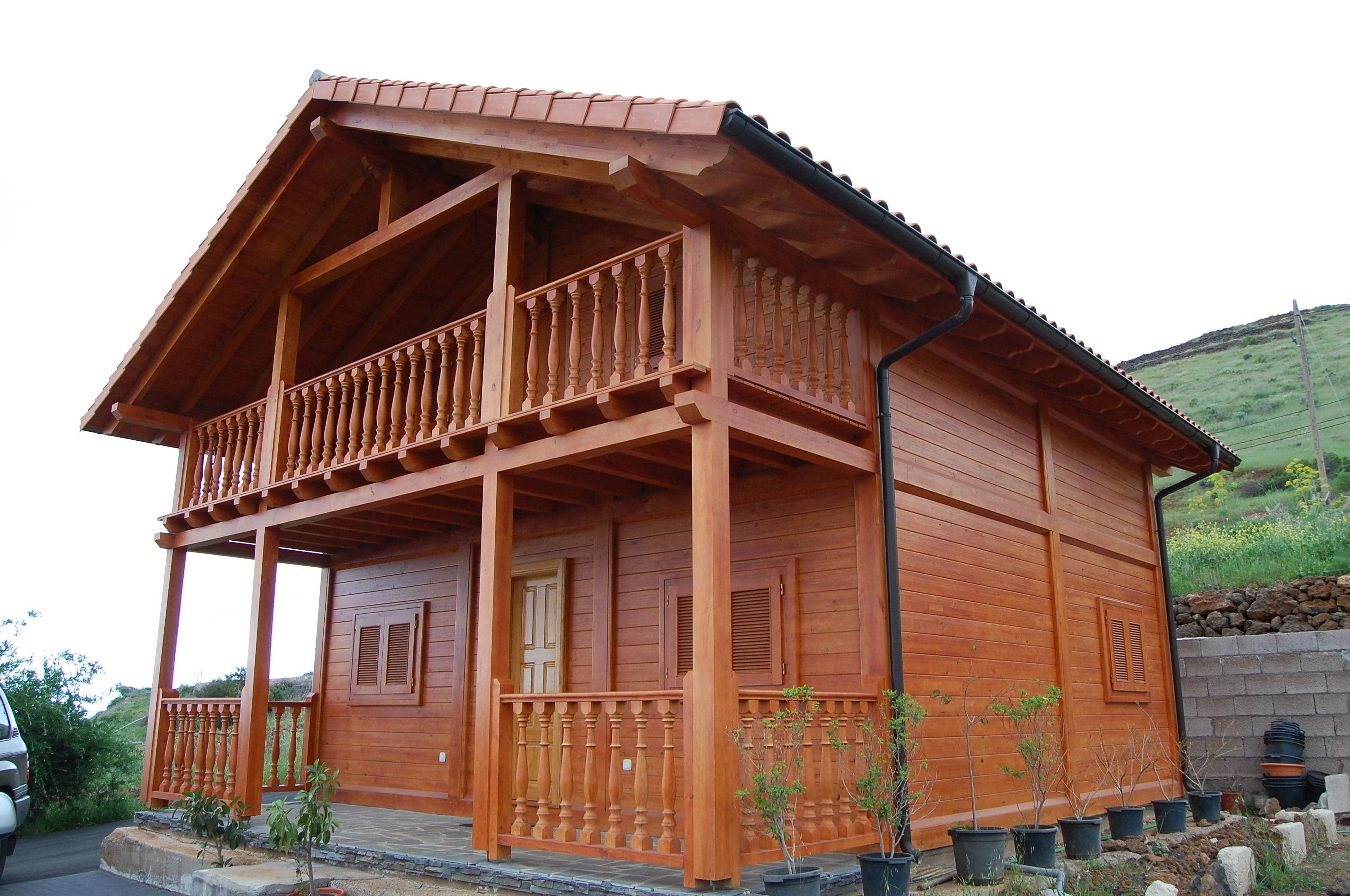 foto 7 de casas de madera en tacoronte cortelima
