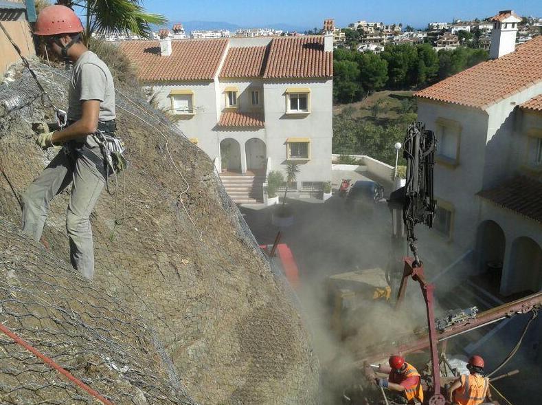 Colocación de redes de cables