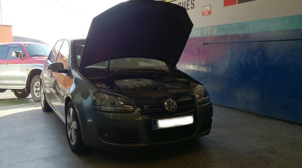 VW GOLF,cambio de kit de distribución