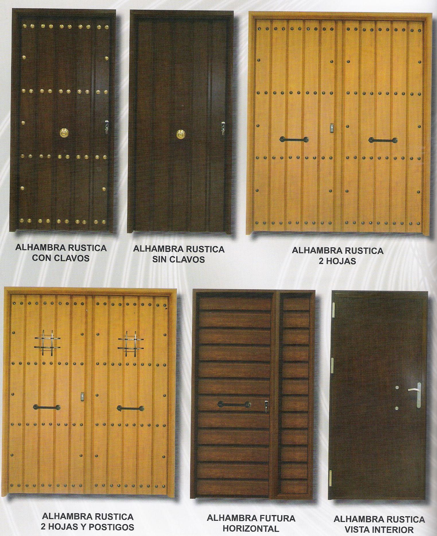 Puertas De Baño Rusticas:Puertas Rústicas: Catálogo de Ventanas y Persianas Persiplast