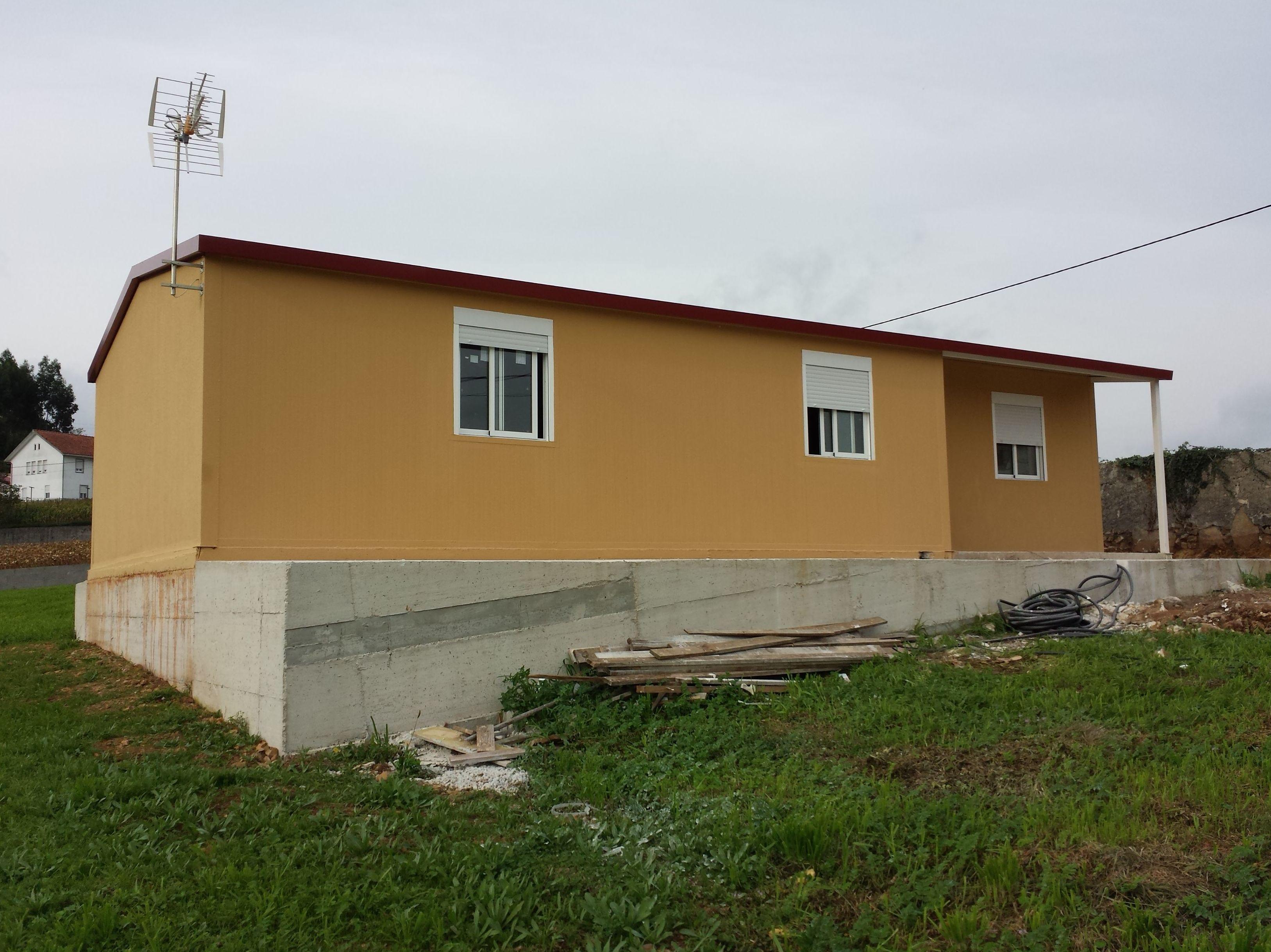 Se entrego una nueva vivienda eco en corcoesto a coru a - Casas prefabricadas a coruna ...