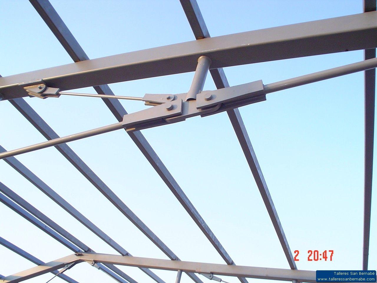 Estructuras metalicas productos de talleres san bernab - Cerchas metalicas para cubiertas ...