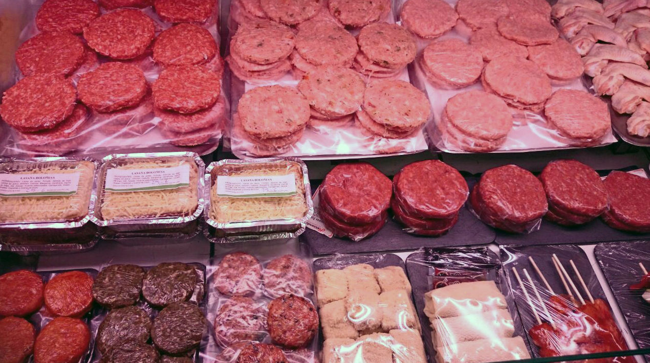 Gran variedad de hamburguesas y mini\u002Dhamburguesas