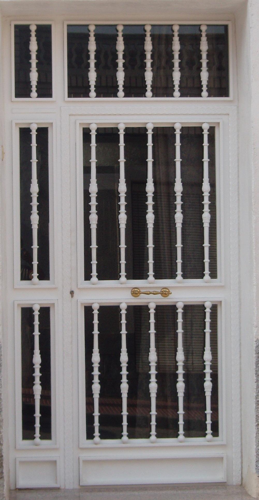 Forjado portones seguridad rejas protecciones puertas - Rejas de hierro forjado ...