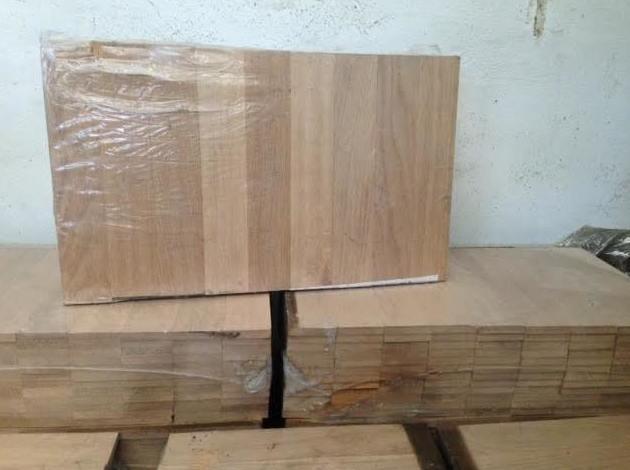 parquet de tablilla de roble suministro