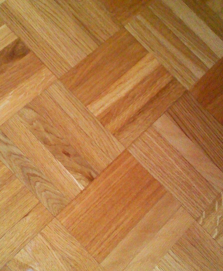 parquet de damas de roble