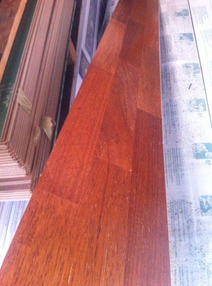 Instalacion TARIMA flotante madera IMA teca en Asturias y venta a toda España