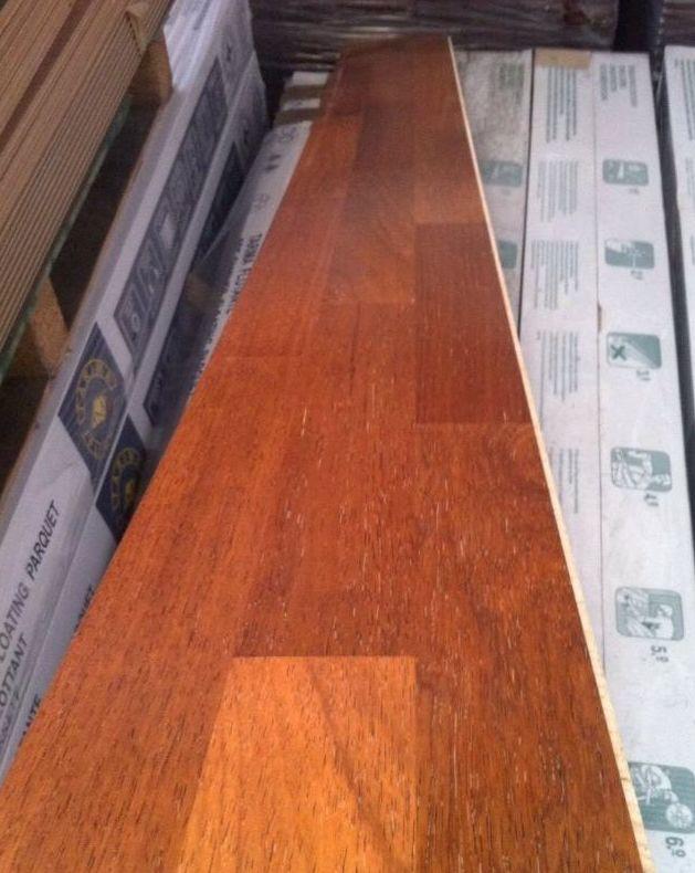 Instalacion TARIMA flotante madera IMA merbau en Asturias y venta a toda España
