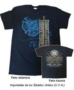 """Camiseta """"Absolut"""", bomberos de Clifton (USA)"""