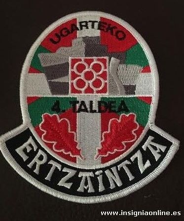 Emblema Ertzaintza Bilbao Ugarteko