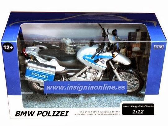 Motocicleta BMW escala 1:12