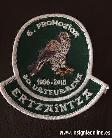 Emblema 30 aniversario promocion 6 Ertzaintza