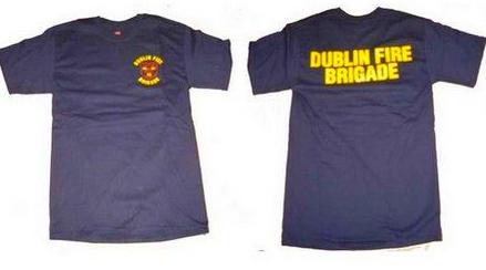 Camiseta de bomberos de Dublin