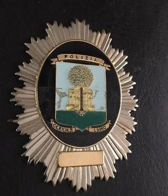 PLACA POLICIA MUNICIPAL DE GUERNICA-VIZCAYA