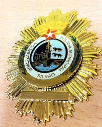 PLACA POLICIA BILBAO
