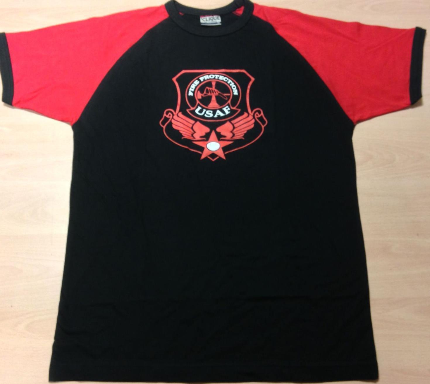 Camiseta bombero militar