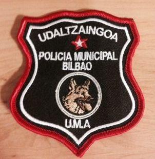 ESCUDO UNIDAD CANINA POLICIA BILBAO